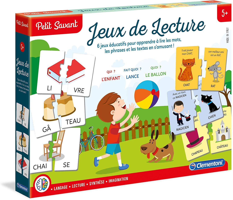Jeu De Lecture Petit Savant avec Jeux De Mots Pour Enfants