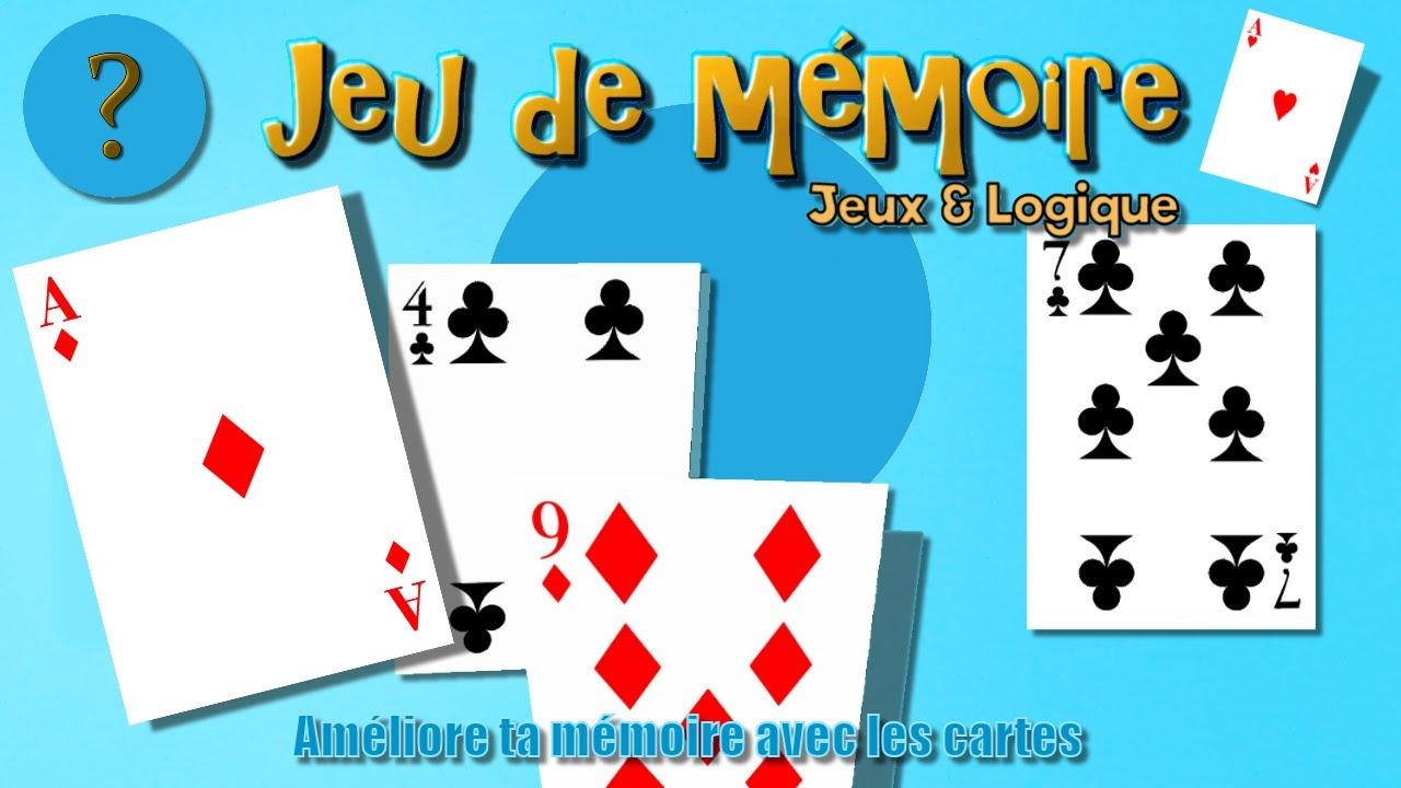 Jeu De Mémoire | Améliore Ta Mémoire Avec Les Cartes | Jeu Gratuit | Jeux &  Logique à Jeu De Memoire Gratuit
