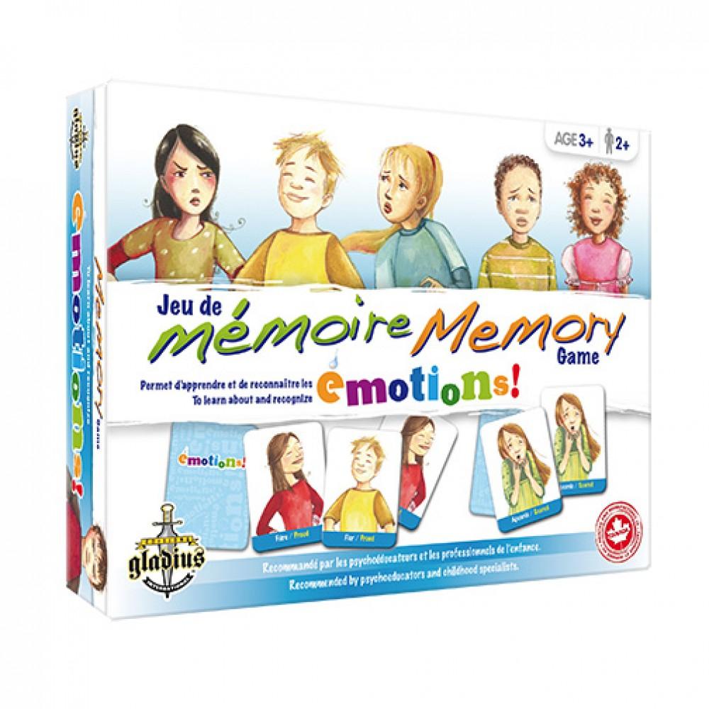 Jeu De Mémoire - Émotions De Éditions Gladius - Poupons pour Jeux De Memoire Enfant