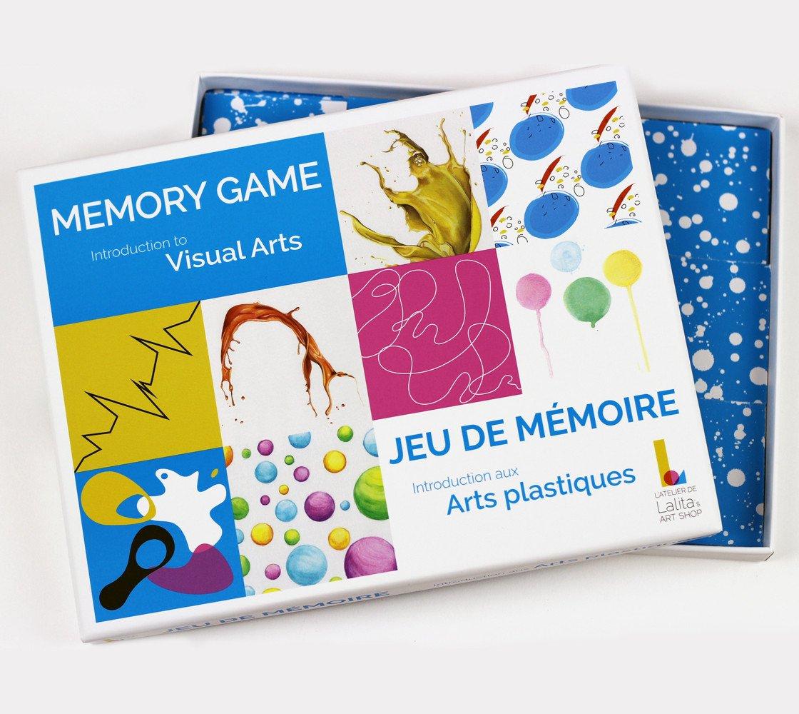 Jeu De Mémoire - Introduction Aux Arts Plastiques (Multilingue) pour Jeux De Memoire Enfant