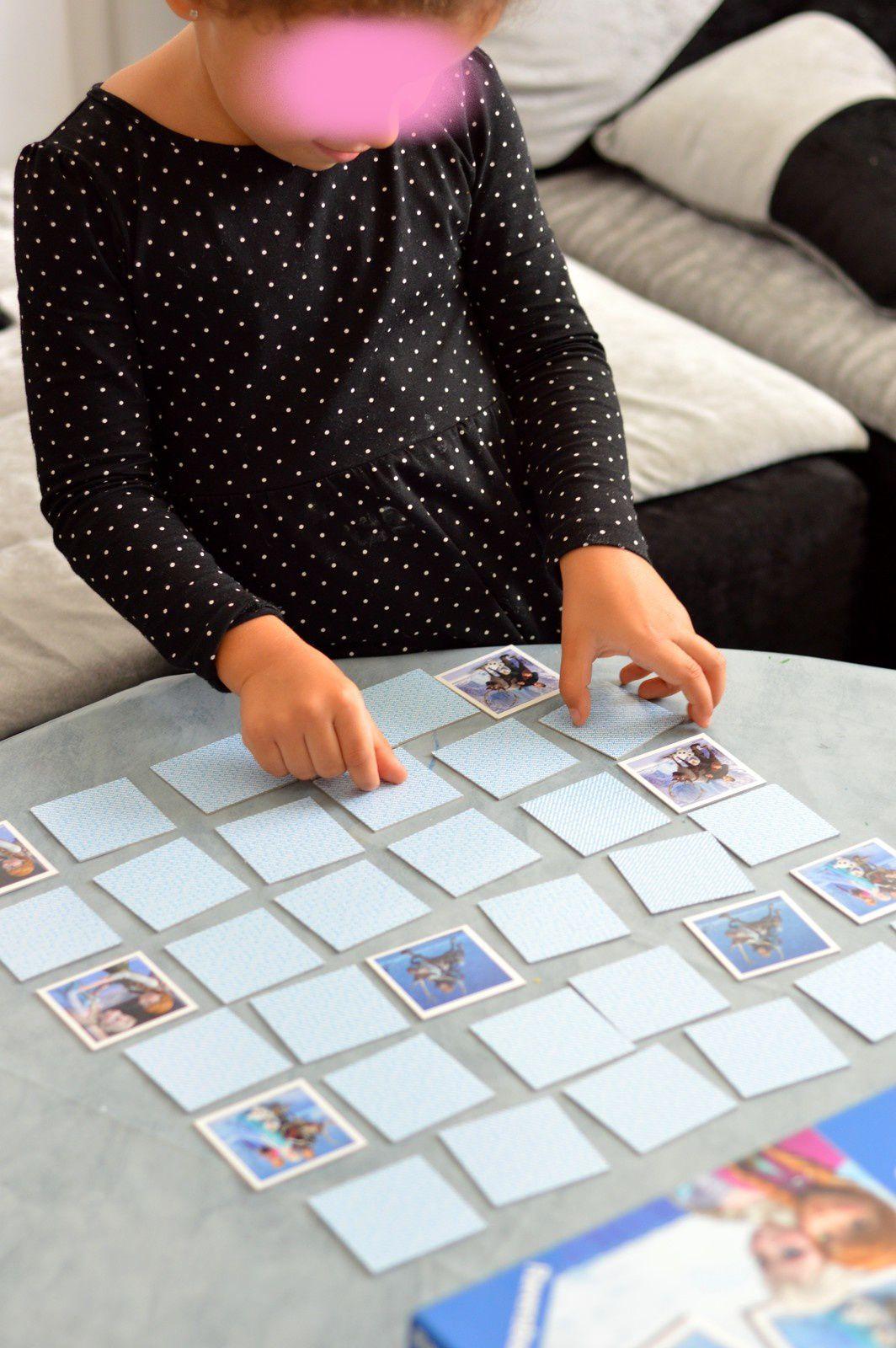 Jeu De Mémoire - La Reine De Neiges - Enfant Bébé Loisir encequiconcerne Jeux De Memoire Enfant