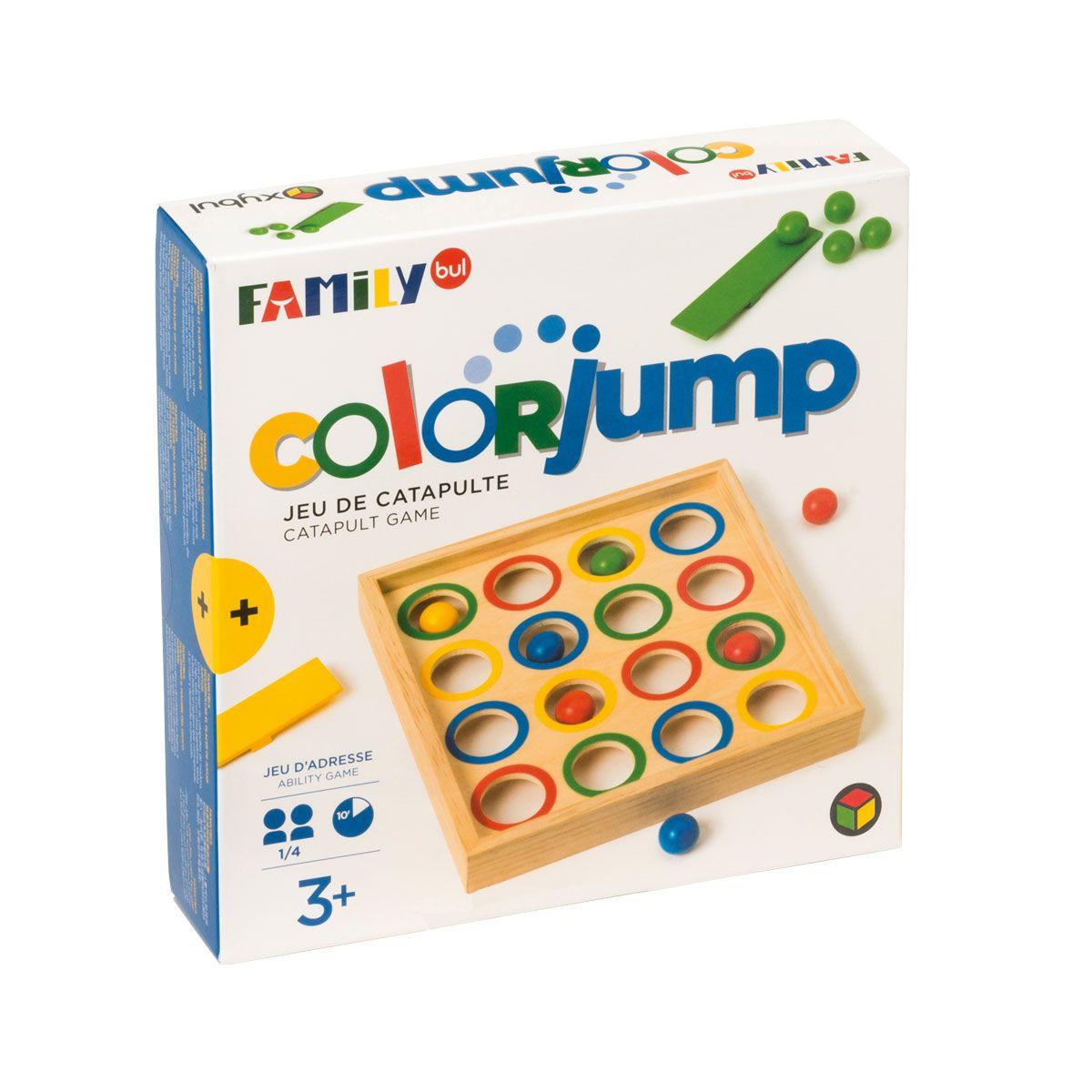 Jeu De Société Colorjump Familybul Création Oxybul | Oyuncak serapportantà Jeux Pour Enfant De 3 Ans