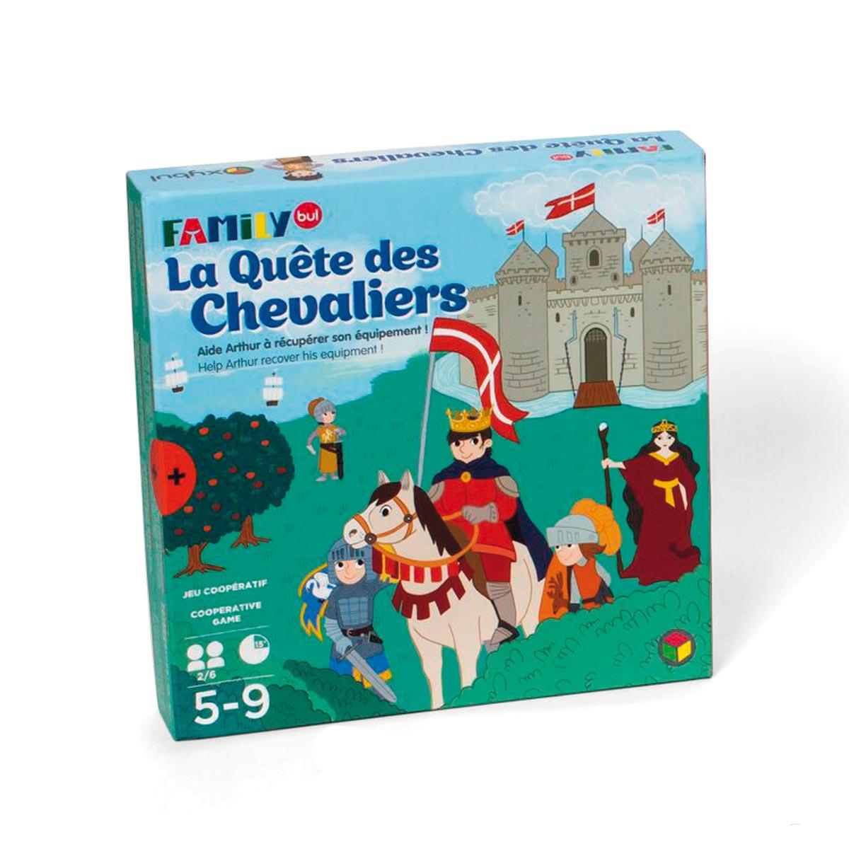 Jeu De Société La Quête Des Chevaliers serapportantà Jeux De Intelligence De Fille