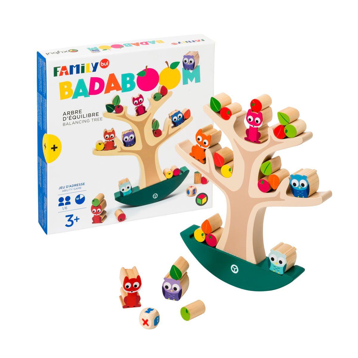 Jeu De Société L'arbre D'équilibre Badaboom Familybul encequiconcerne Jeux Pour Enfant De 3 Ans