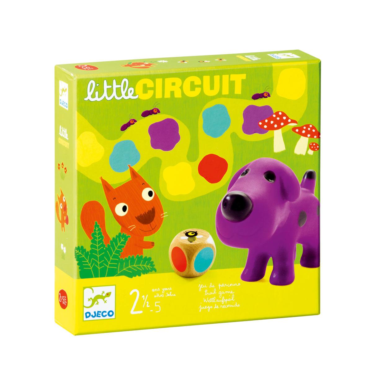 Jeu De Société Little Circuit intérieur Jeux Pour Enfant De 5 Ans