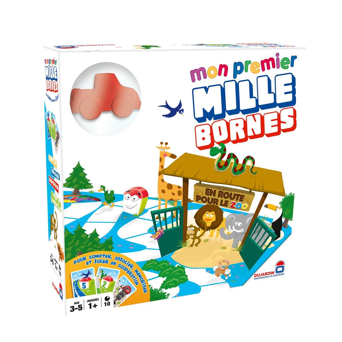 Jeu De Société Mon Premier Mille Bornes encequiconcerne Jeux Pour Enfant De 3 Ans