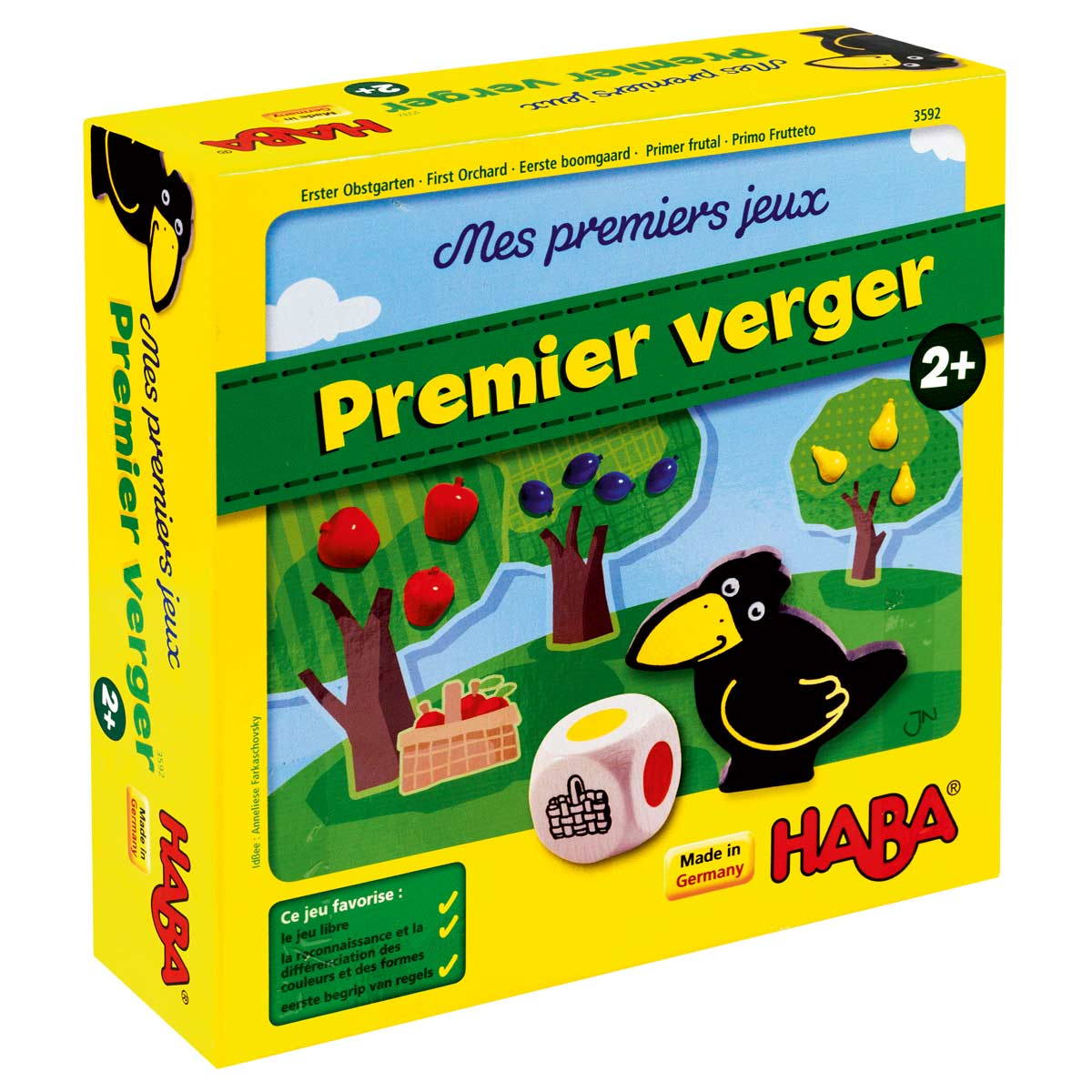 Jeu De Société Mon Premier Verger destiné Jeux Gratuits Pour Enfants De 3 Ans