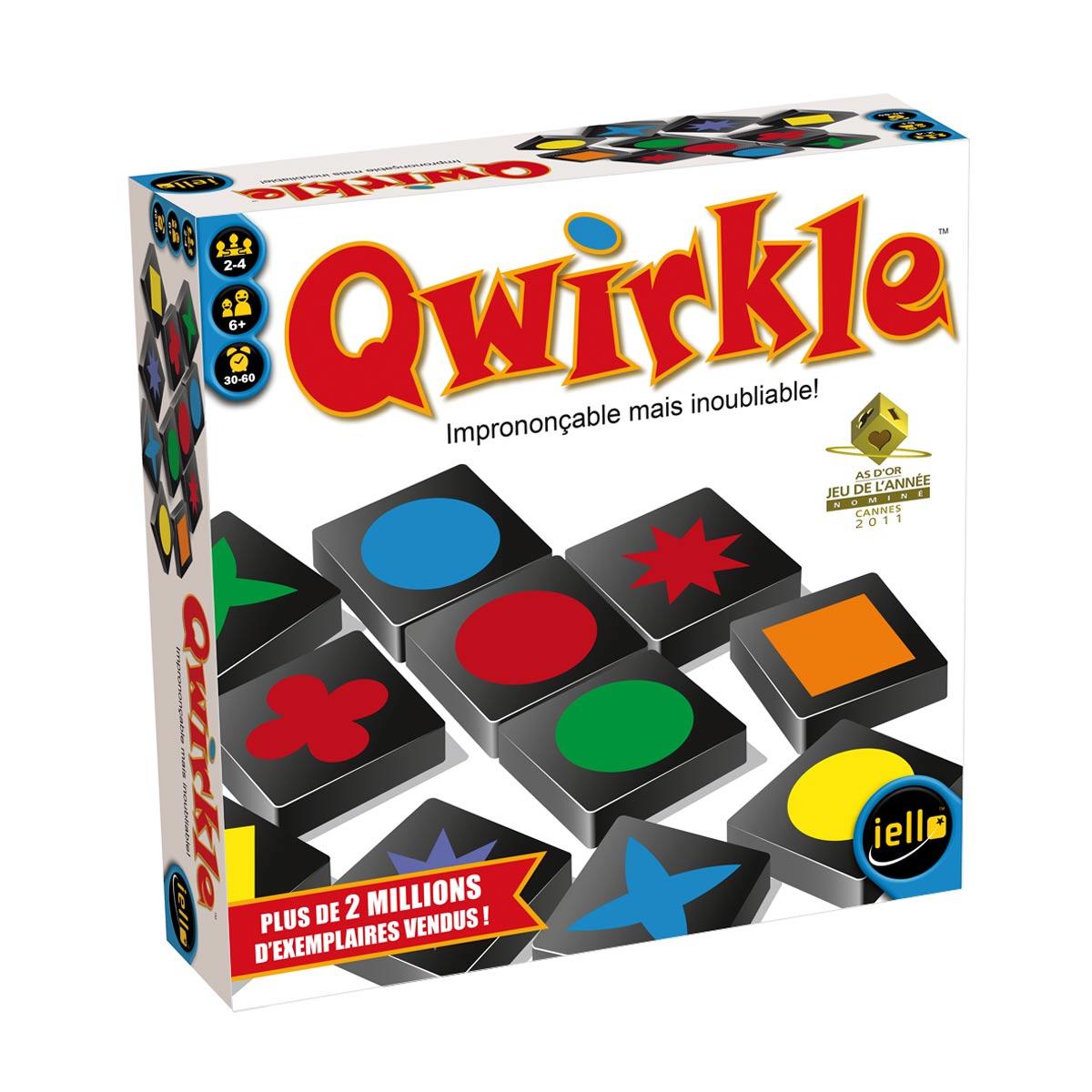 Jeu De Société Qwirkle tout Jeux De Intelligence De Fille