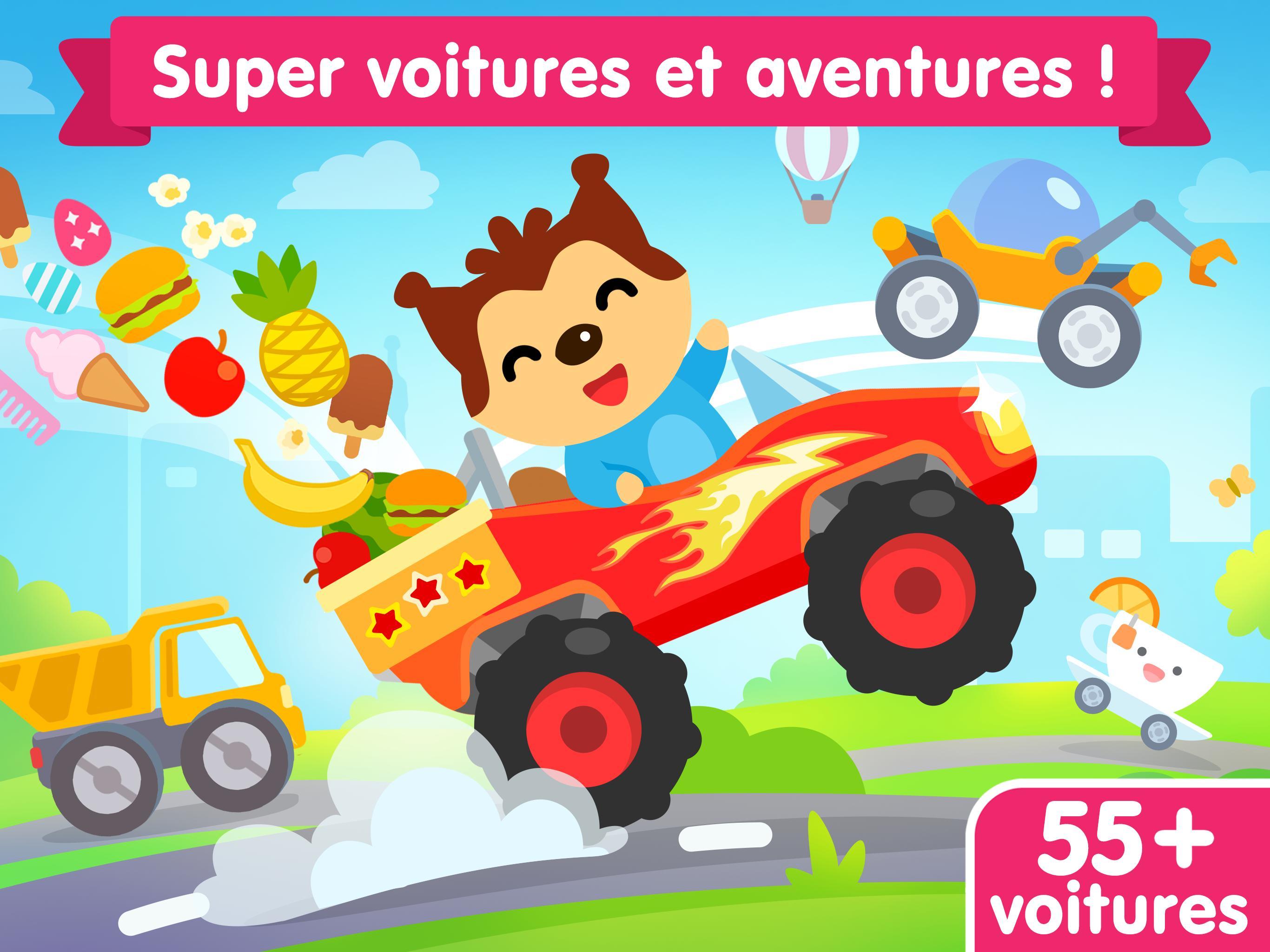 Jeu De Voiture Pour Les Bébés Et Enfants 3 Ans Pour Android destiné Jeux Gratuits Pour Enfants De 3 Ans