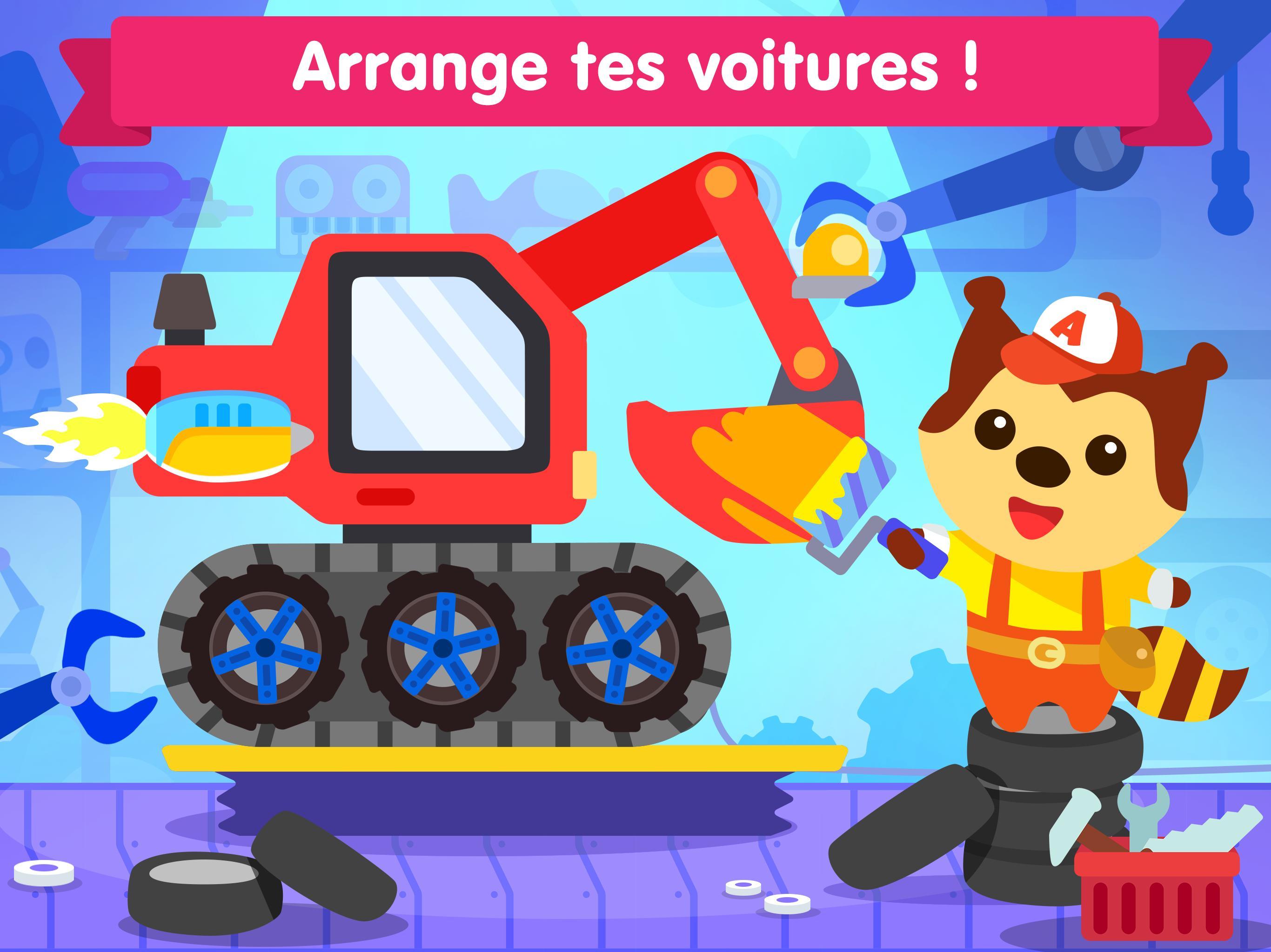 Jeu De Voiture Pour Les Bébés Et Enfants 3 Ans Pour Android intérieur Jeux Gratuits Pour Enfants De 3 Ans