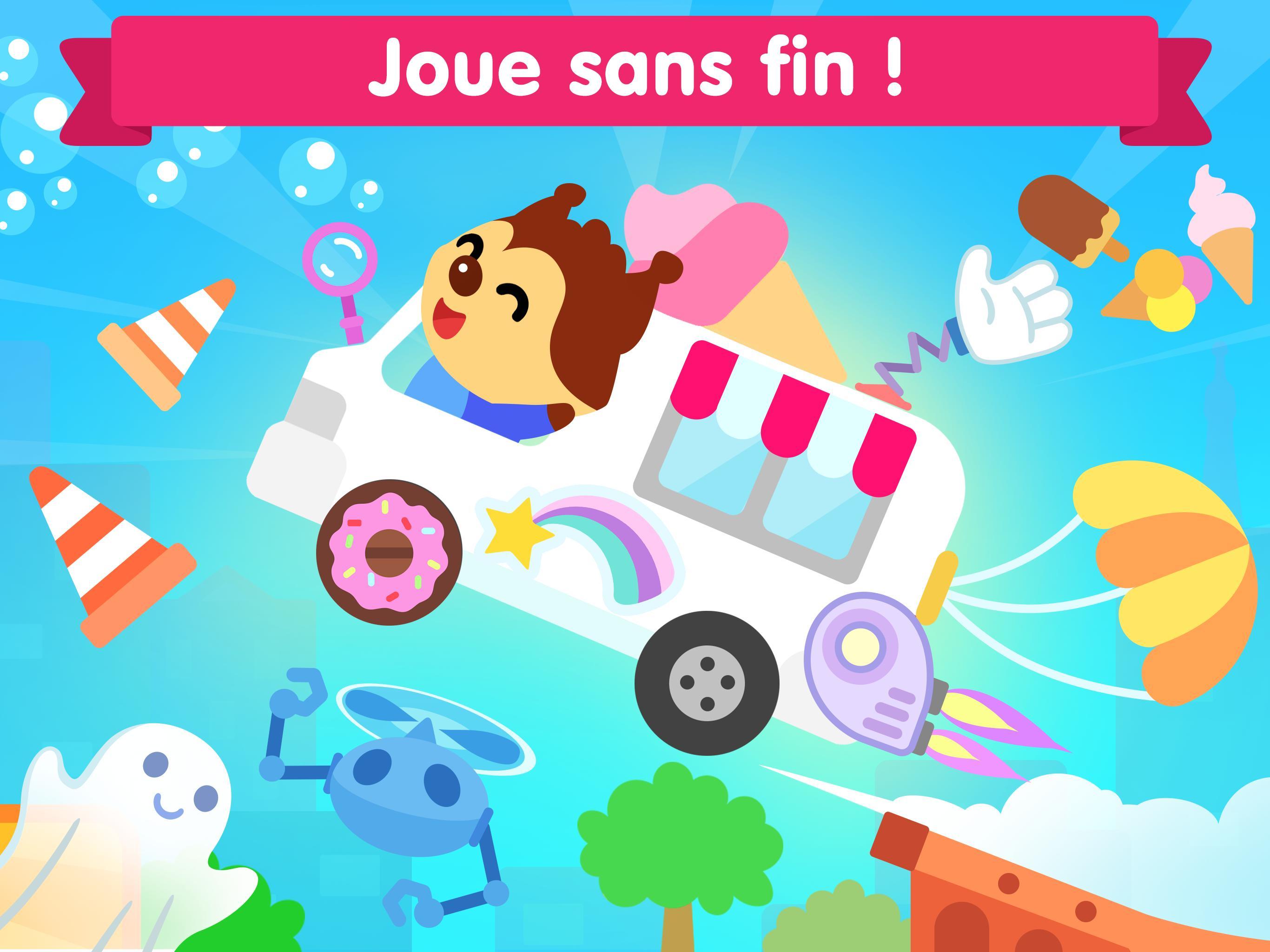 Jeu De Voiture Pour Les Bébés Et Enfants 3 Ans Pour Android pour Jeux Gratuits Pour Enfants De 3 Ans