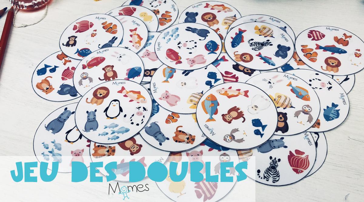 Jeu Des Doubles À Imprimer - Momes pour Jeux De Maternelle À Imprimer