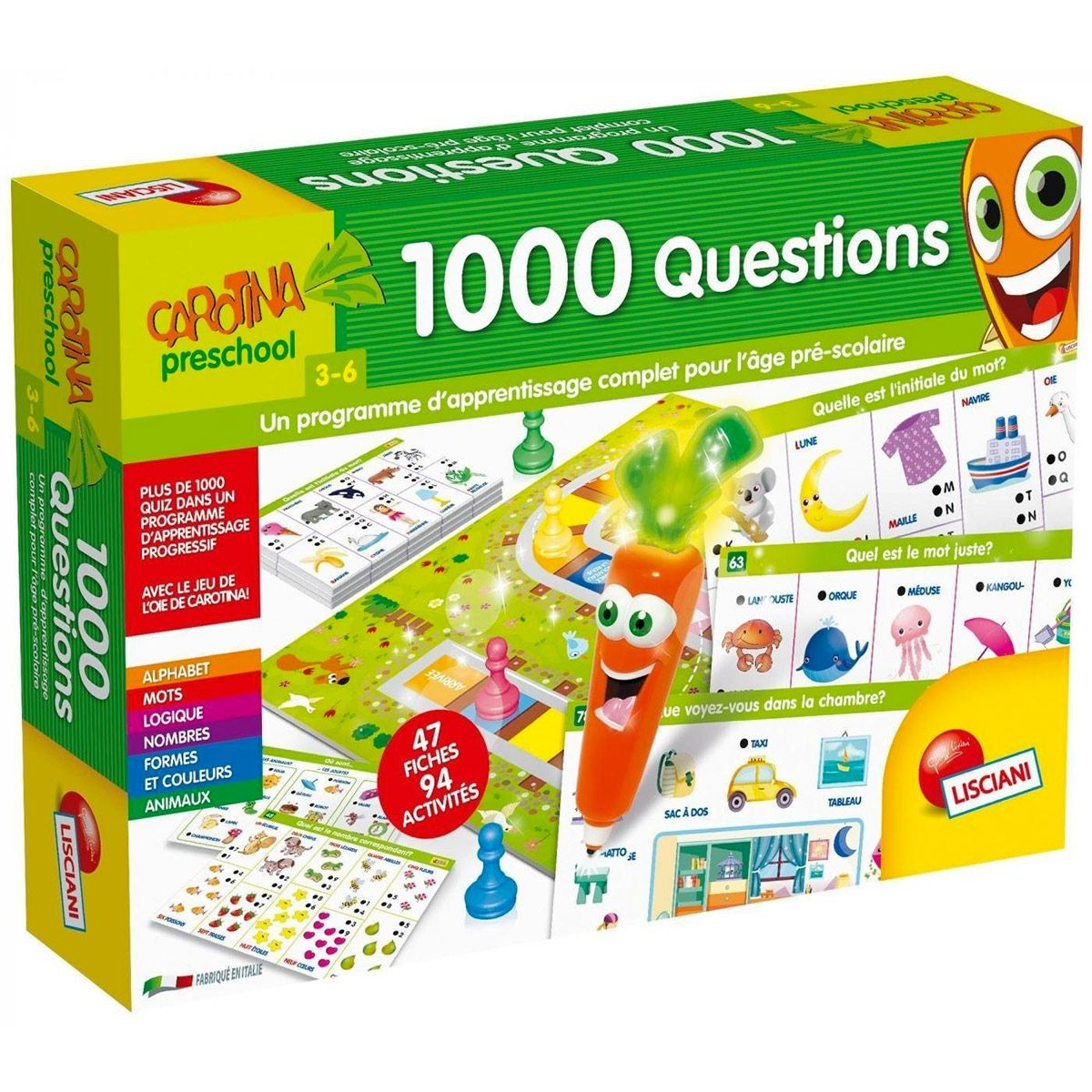 Jeu Éducatif 1000 questions pour 3 Jeux Educatif