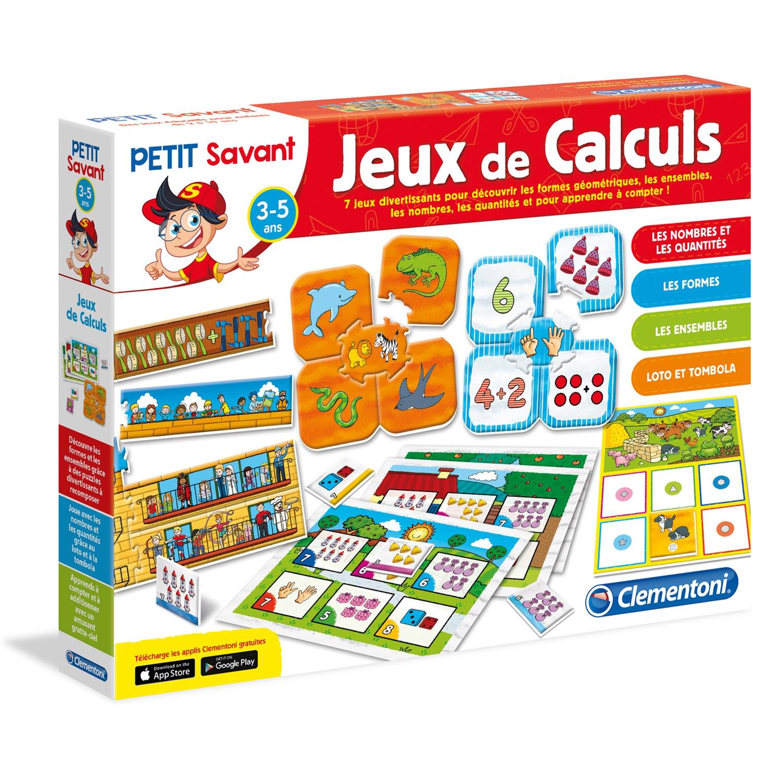 Jeu Éducatif Agitateur De Neurones: Jeux De Calculs à Jeux Educatif 3 v.