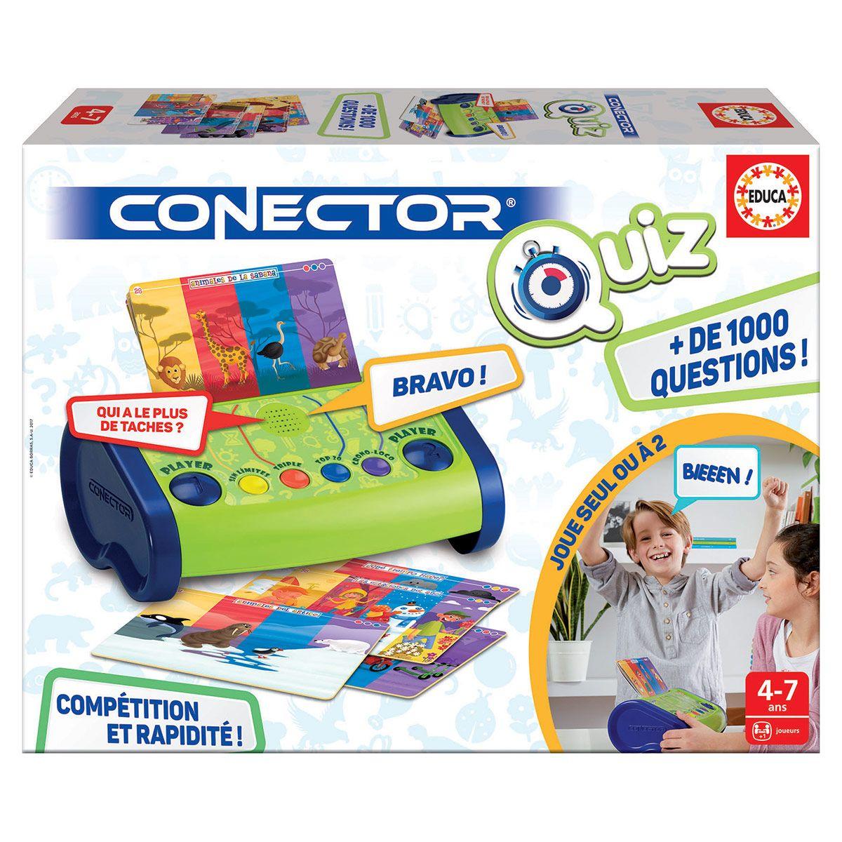 Jeu Éducatif Conector Quiz Junior encequiconcerne Jeux Educatif 4 Ans