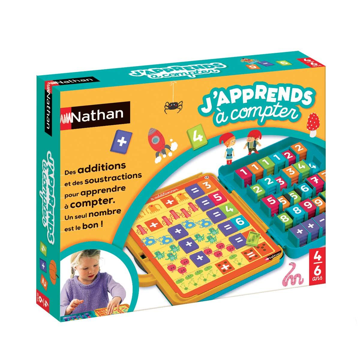 Jeu Éducatif J'apprends À Compter à Jeux Educatif 4 Ans
