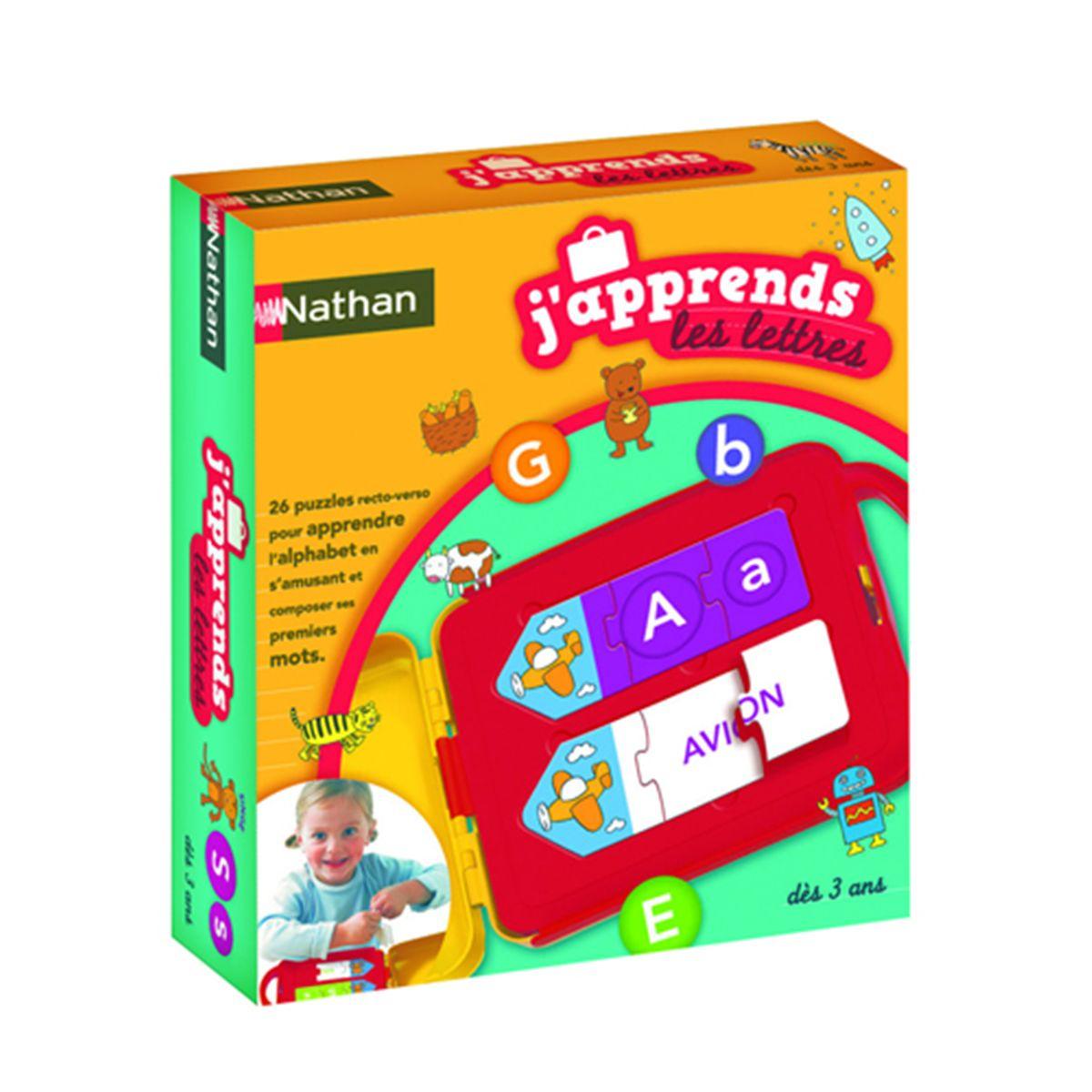Jeu Éducatif J 'Approuve Les Lettres avec Jeux Educatif 3 Ans