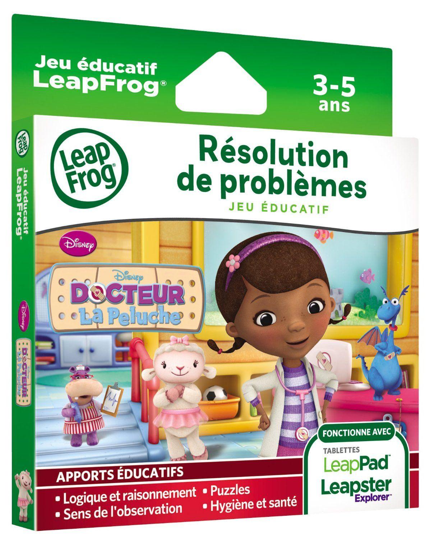 Jeu Éducatif Leappad / Leapster: Docteur La Peluche Destiné Jeux Educatif 3 Ans