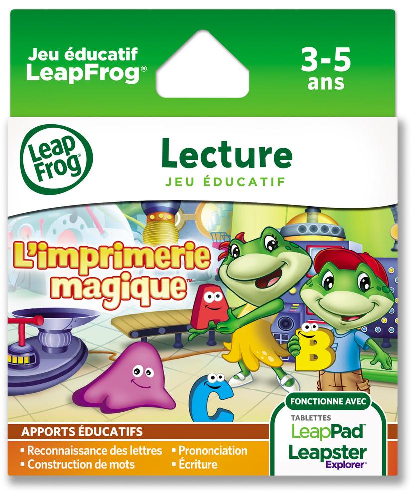 Jeu Éducatif L'imprimerie Magique, Français |  Acheter En avec Jeux Educatif 3 Ans En Ligne