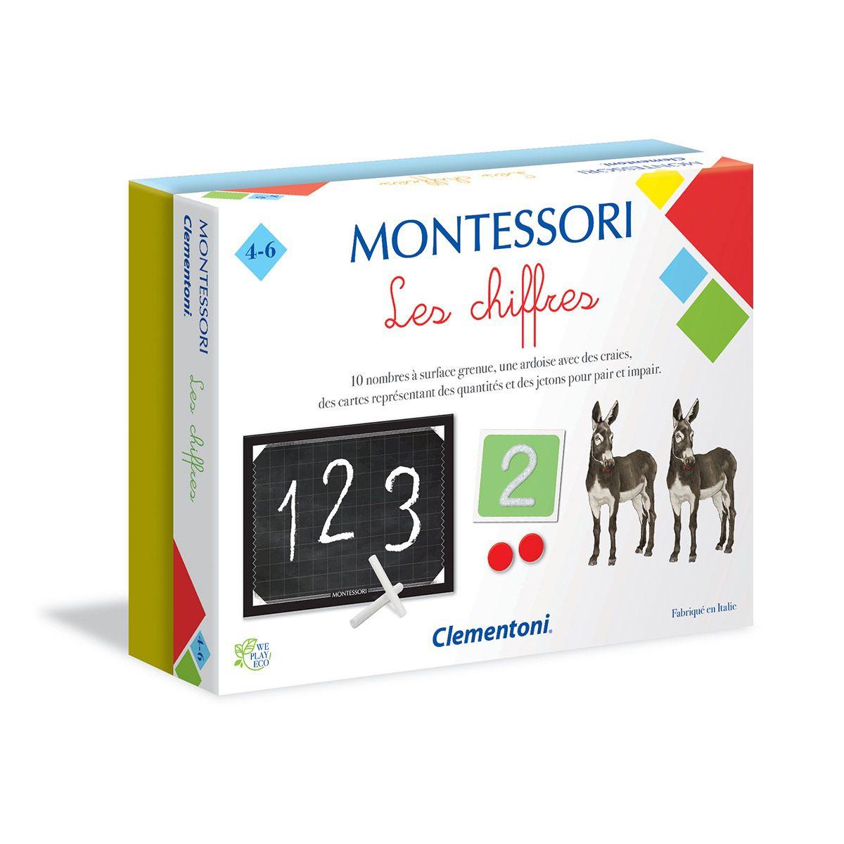 Jeu Éducatif Montessori Les Chiffres destiné Jeux Educatif 4 Ans