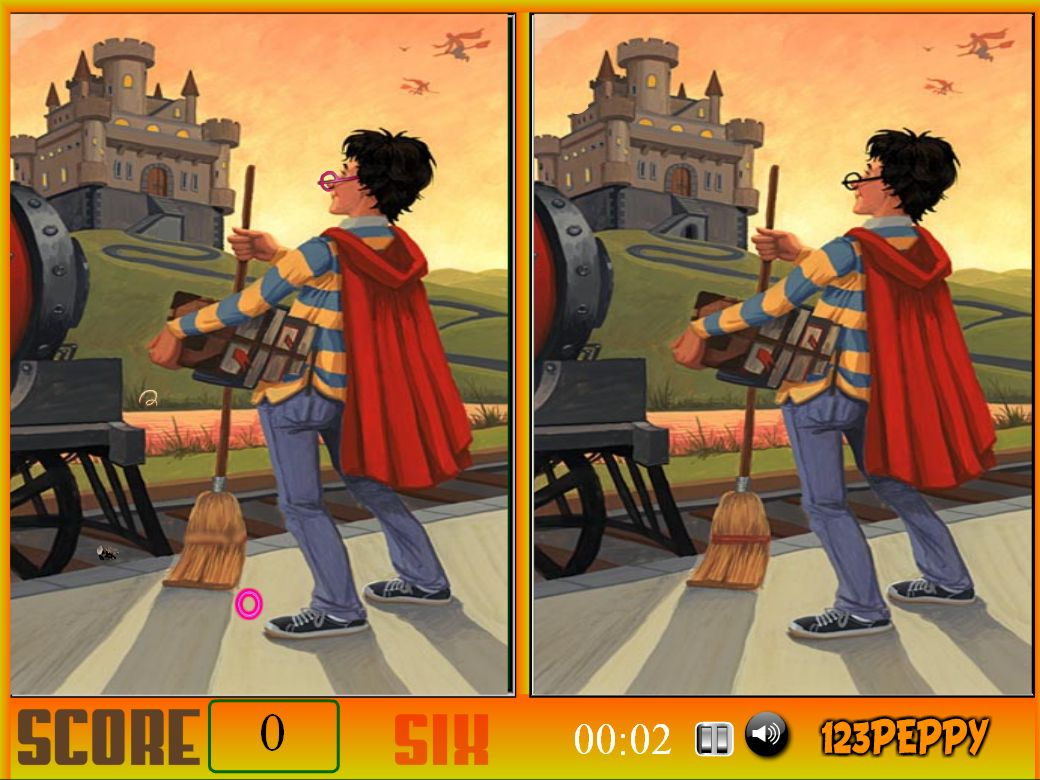 Jeu Harry Potter Spot The Difference / Jeuxgratuits serapportantà Jeux Des Differences Gratuit