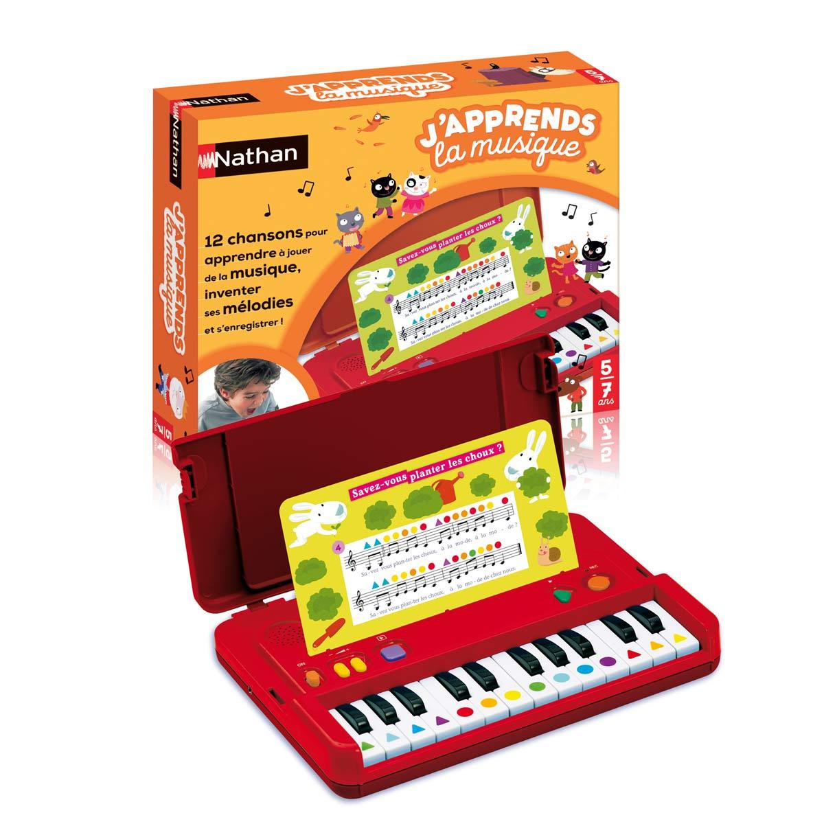 Jeu Interactif J'apprends La Musique avec Jeux Pour Enfant De 5 Ans