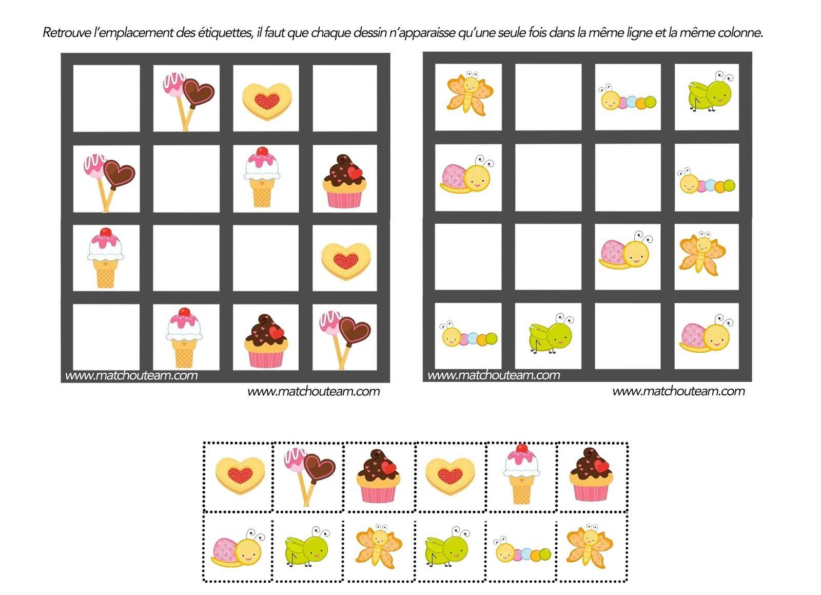 Jeu Pour Esprit Logique | Jeux De Logique, Jeux De Reflexion à Jeux Enfant Gratuit En Ligne