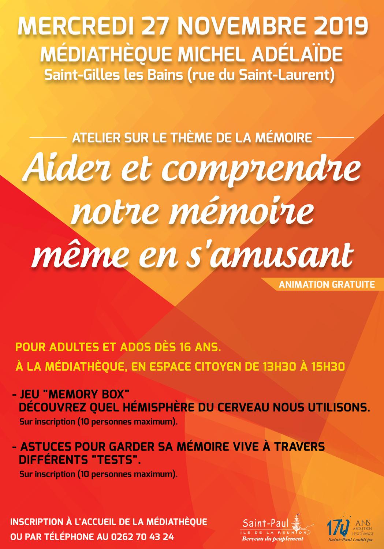 Jeu Test Ma Mémoire ! - Ville De Saint-Paul dedans Jeu De Memoire Gratuit