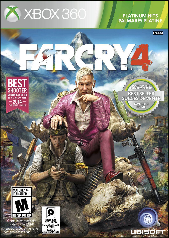 Jeu Vidéo Far Cry 4 Platinum Hits Pour Xbox 360 serapportantà Jeu En Ligne Pour Adulte