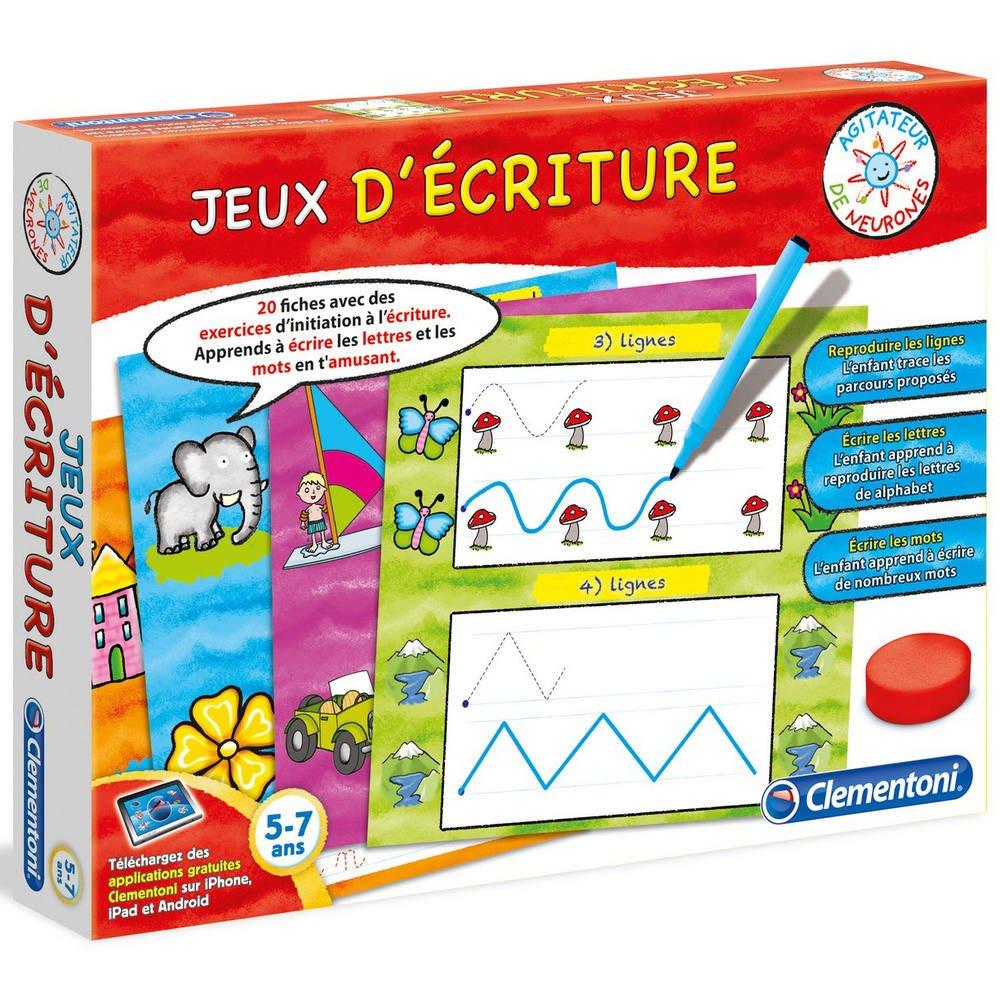 Jeux D Ecriture encequiconcerne Jeux Educatif 3 Ans