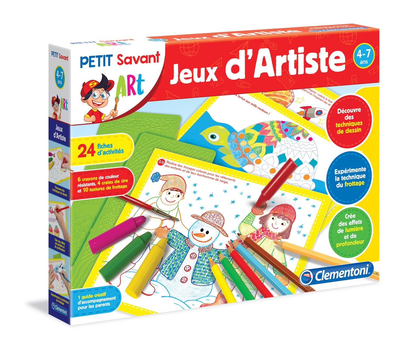 Jeux D'artiste - Clementoni Petit Savant pour Jeux Educatif 4 Ans