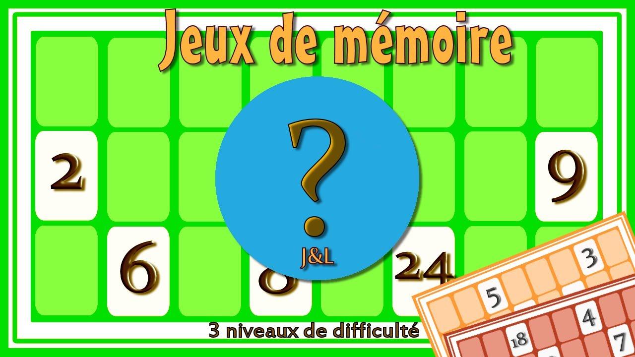 Jeux De Mémoire Par Les Nombres | 9 Petits Jeux Sympas Pour Améliorer Ta  Mémoire | Jeu Gratuit concernant Jeu De Memoire Gratuit