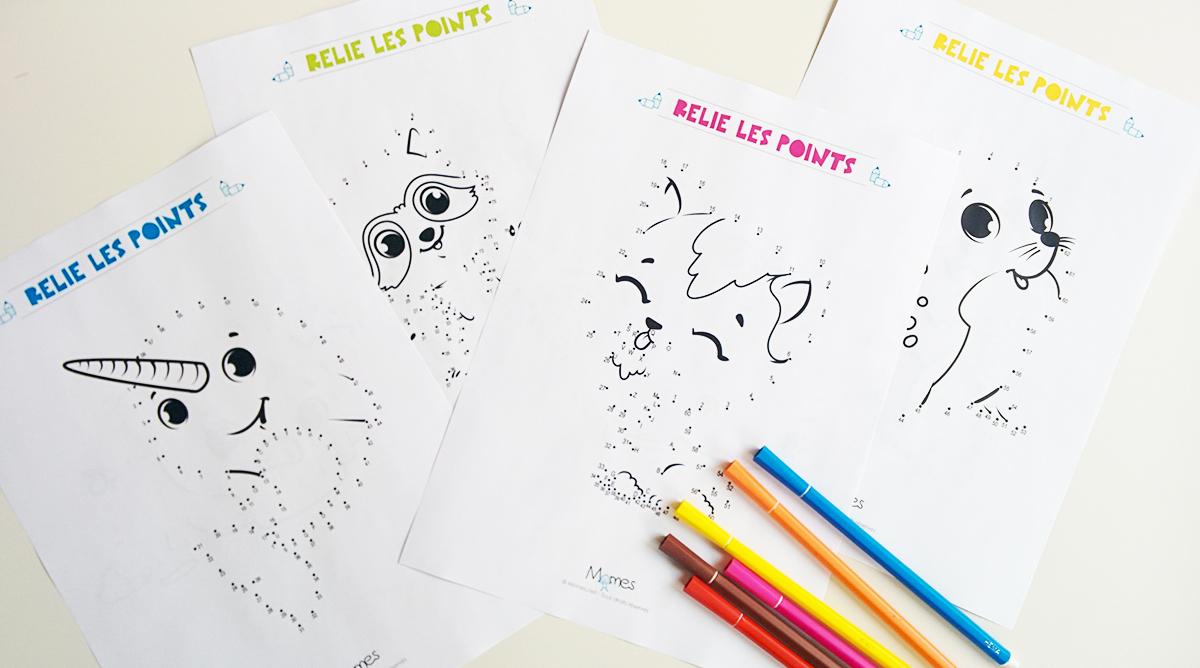 Jeux De Points À Relier À Imprimer - Jeux À Imprimer - Momes à Point À Relier Alphabet