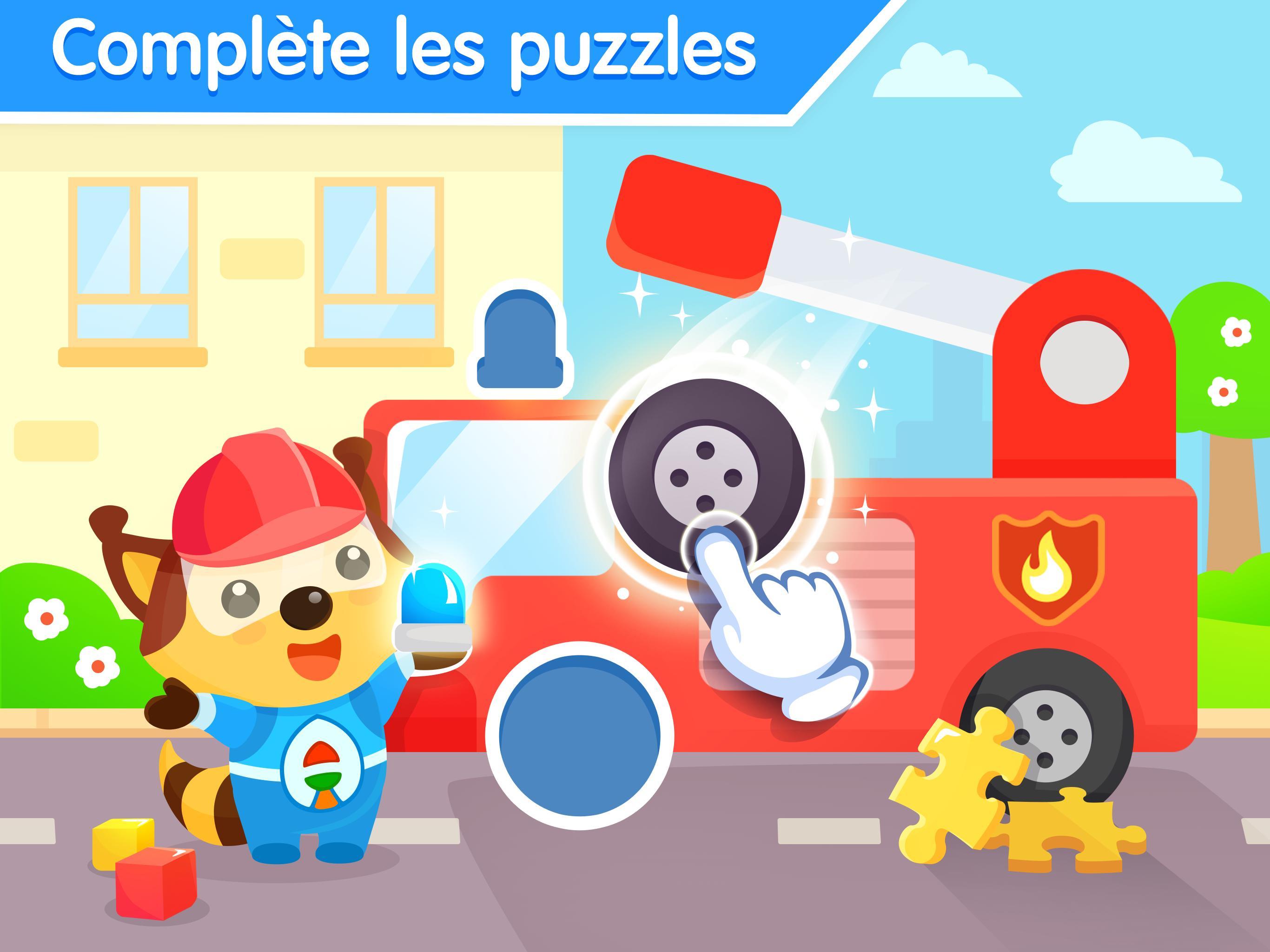 Jeux De Puzzle Pour Bebe 3 Ans - Jeu Éducatif Pour Android encequiconcerne Jeux Educatif 3 Ans