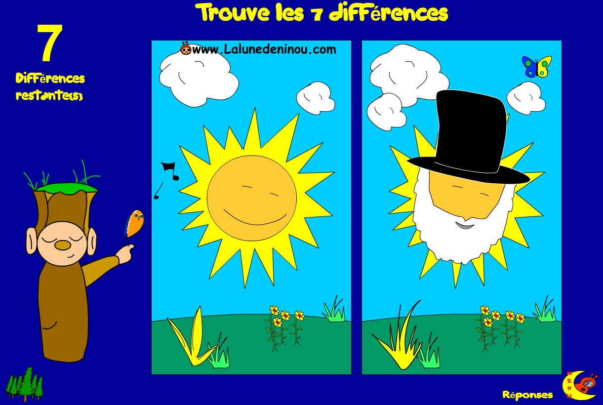 Jeux Des 7 Différences - Le Lutin Des Différences - Jeux destiné Jeux Des Differences Gratuit
