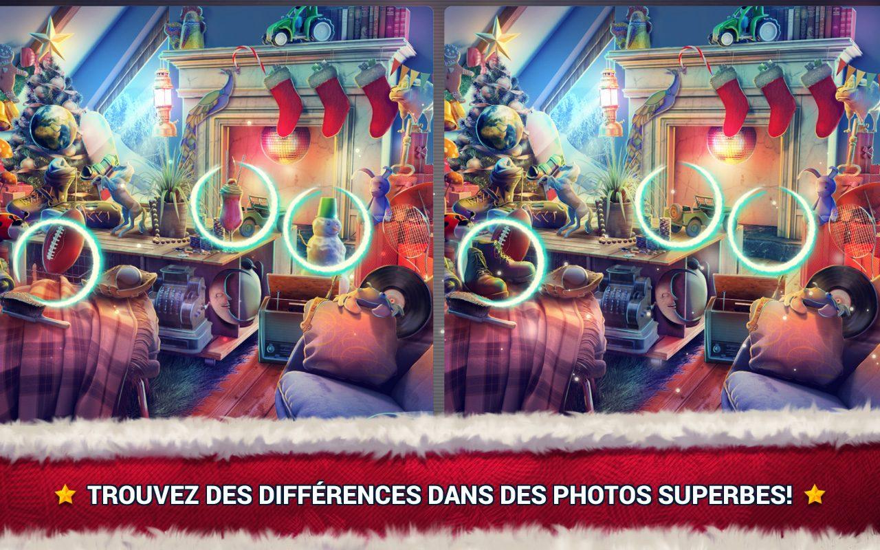 Jeux Des Différences Noël - Jeux Des Erreurs - Jeux Midva intérieur Jeux Des Differences Gratuit