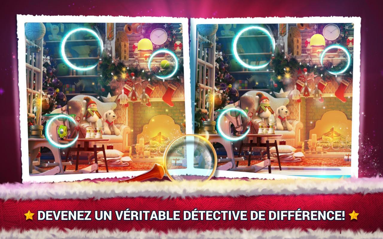 Jeux Des Différences Noël - Jeux Des Erreurs Pour Android destiné Jeux De Différence