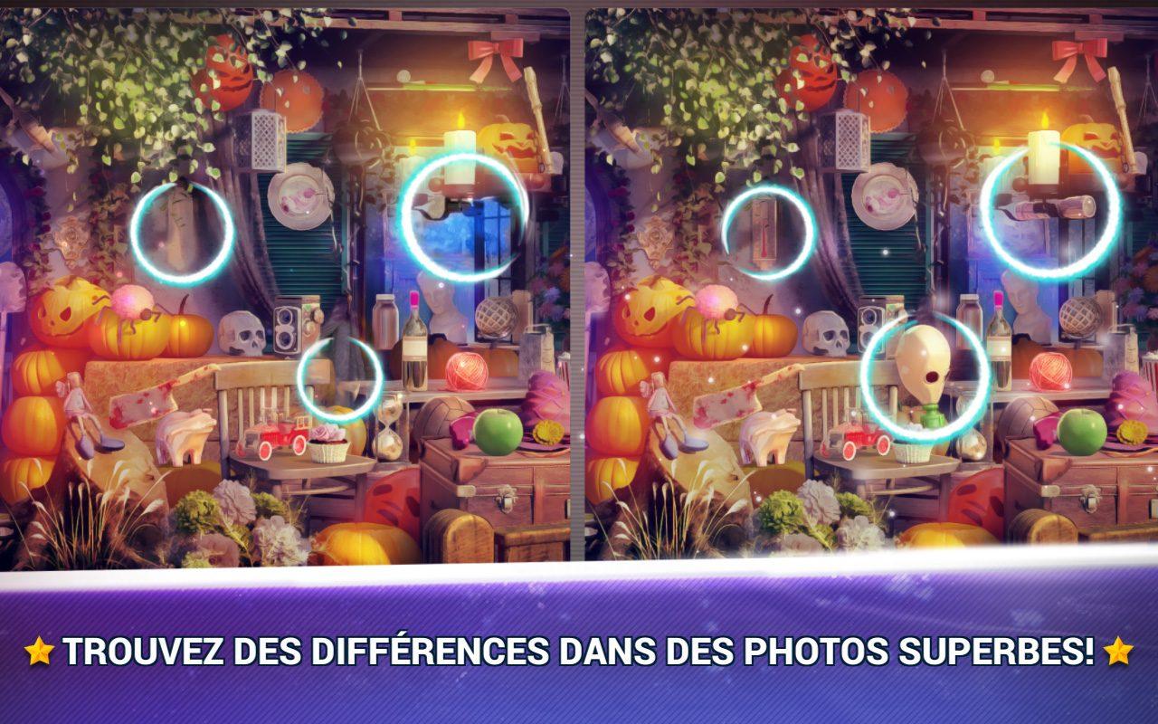 Jeux Des Erreurs Halloween – Jeux Des Différences Gratuit intérieur Jeux Des Differences Gratuit