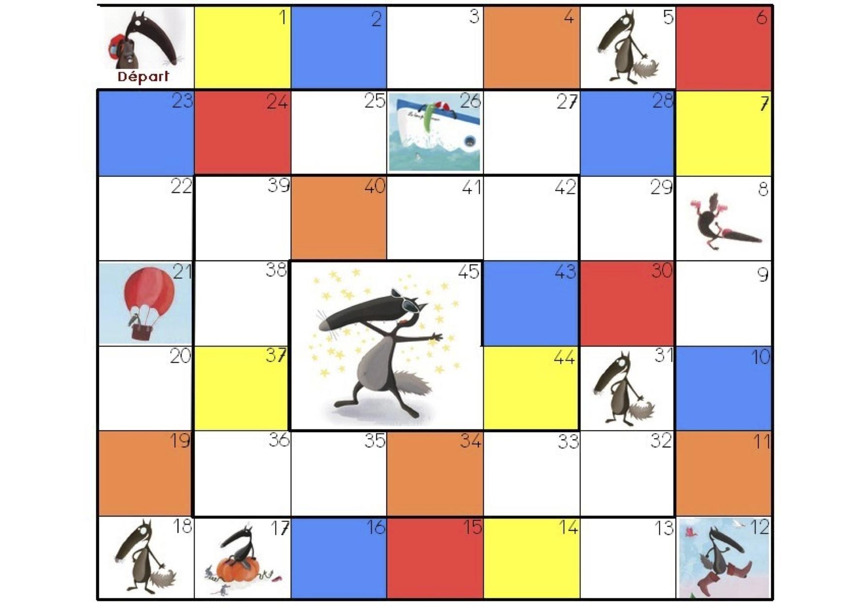 Jeux Loup – Une Instit De Plus concernant Jeux De Maternelle À Imprimer