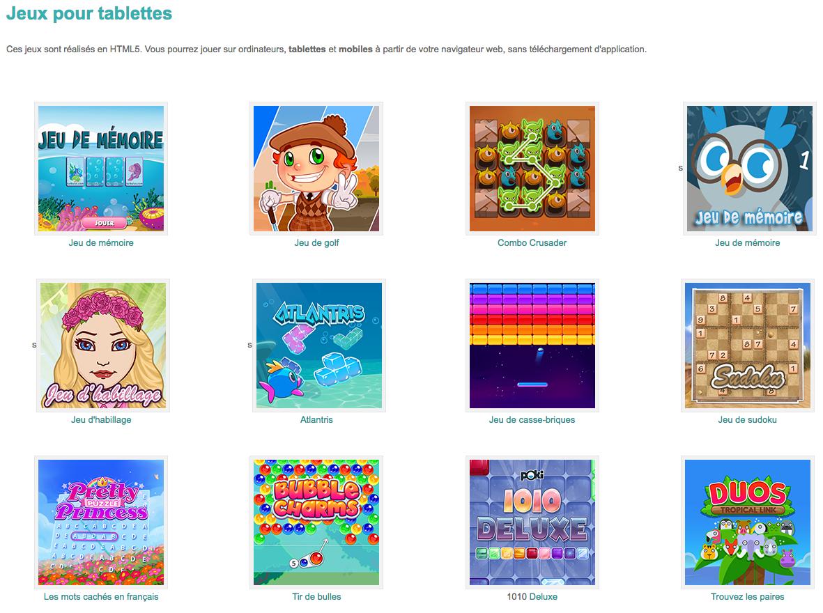 Jeux Ludiques Pour Tablettes #html5 #primaire #préscolaire serapportantà Jeux De Casse Brique Gratuit En Ligne