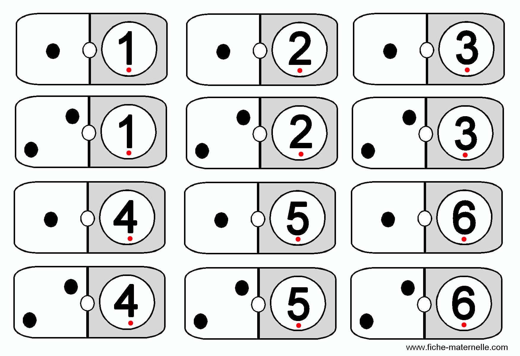 Jeux Mathématiques Pour Apprendre À Compter En Maternelle. pour Jeux De Maternelle À Imprimer