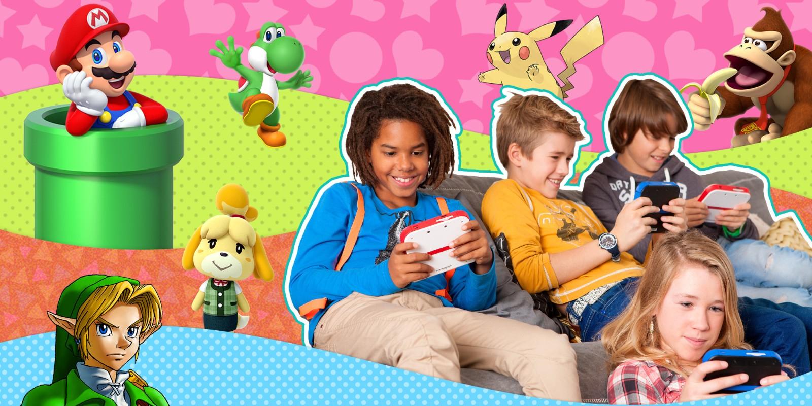 Jeux Nintendo Pour Les Enfants | Nintendo intérieur Jeux Gratuits Pour Enfants De 3 Ans