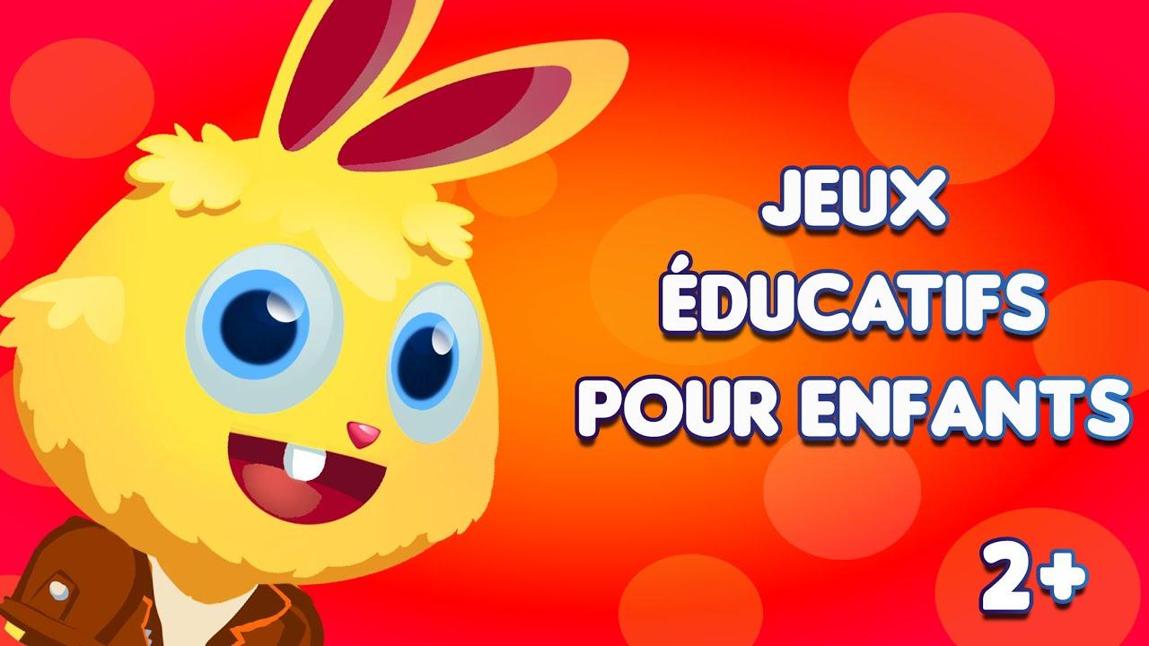 Jeux Pour Enfant Et Bebe De 2-4 Ans |  Jeux Éducatifs De Clapenjoy dedans Jeux Educatif 4 Ans