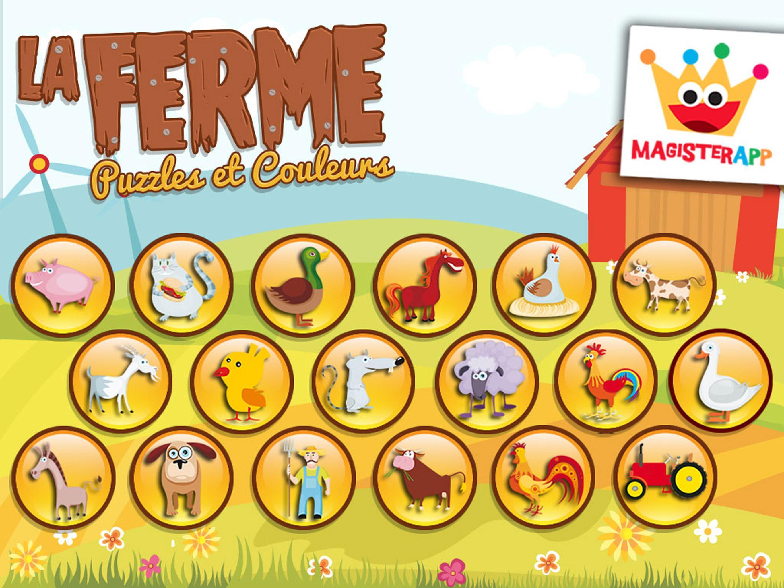 Jeux Pour Enfants Et Bebe 3+ Ans Gratuit: Ferme Pour Android avec Jeux Gratuits Pour Enfants De 3 Ans
