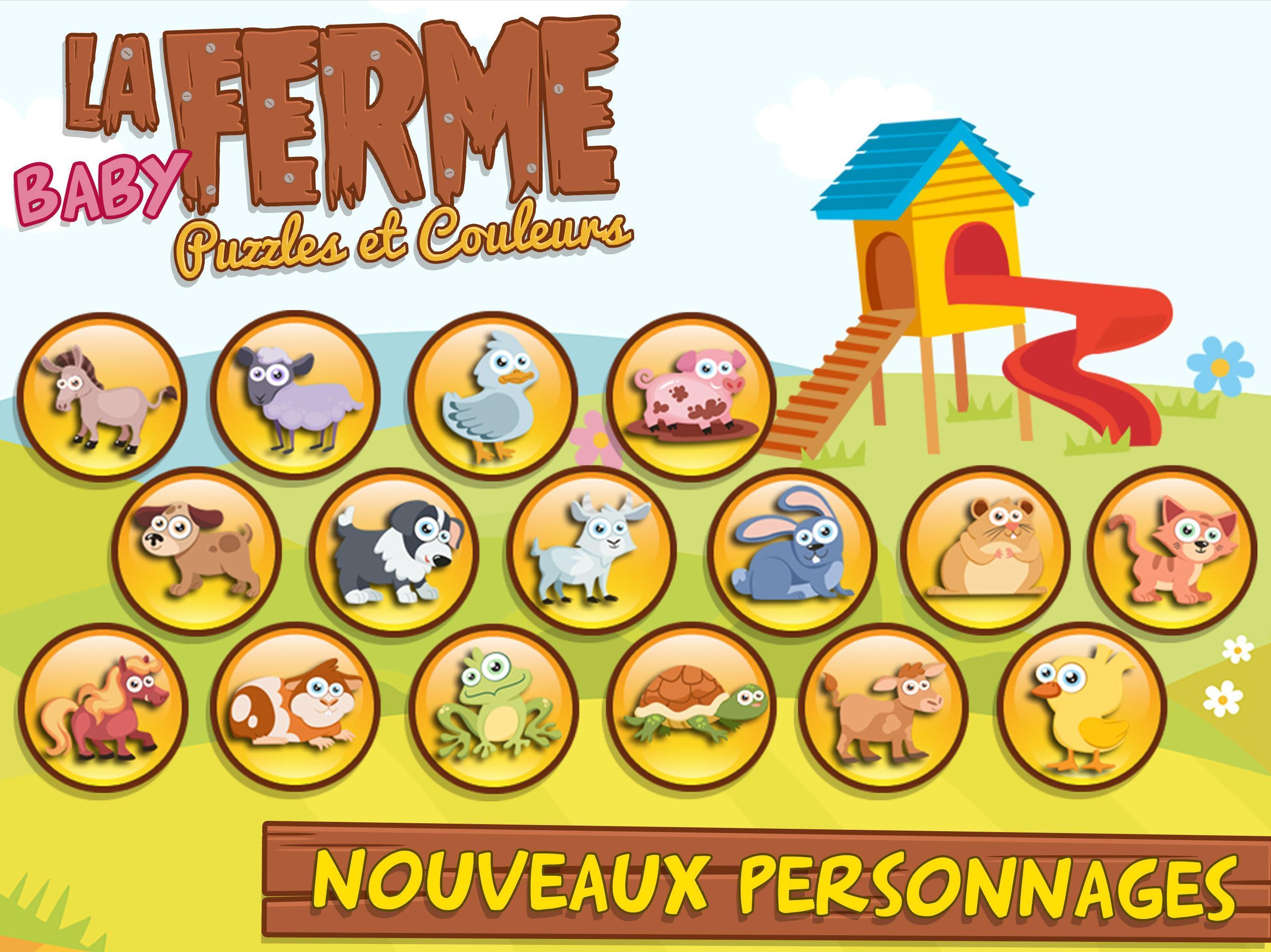 Jeux Pour Enfants Et Bebe 3+ Ans Gratuit: Ferme Pour Android encequiconcerne Jeux Enfant 3 Ans Gratuit