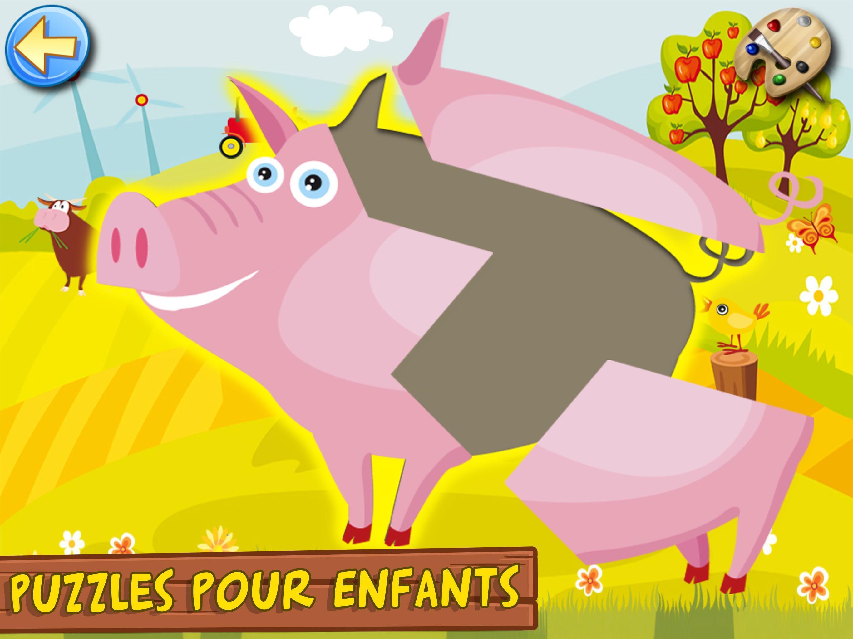 Jeux Pour Enfants Et Bebe 3+ Ans Gratuit: Ferme Pour Android tout Jeux Enfant 3 Ans Gratuit