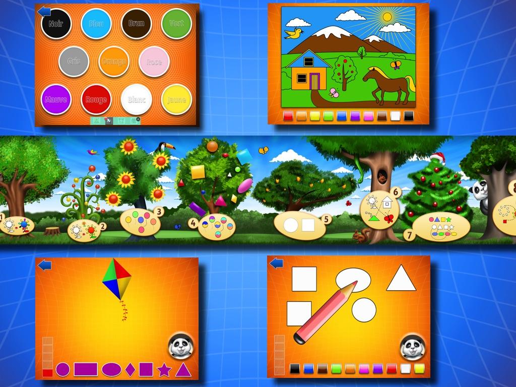 Jeux Préscolaires : Les Couleurs Et Les Formes - Online Game serapportantà Jeux Pour Apprendre Les Couleurs