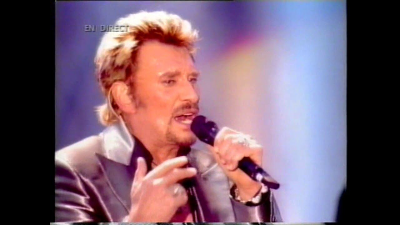 """Johnny Hallyday Et Florent Pagny """"pense À Moi"""" Parc Des destiné Chanson Pense À Moi"""