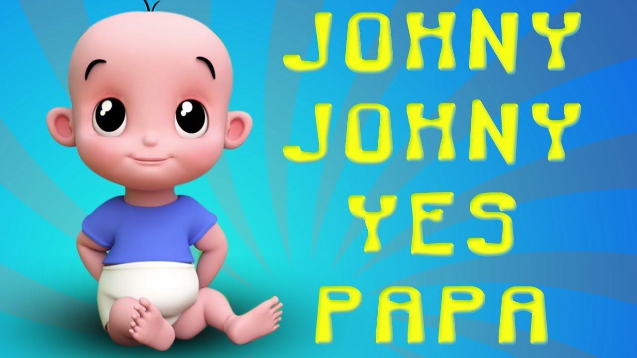Johny Johny Oui Papa | Comptines En Français | Chanson Pour Enfants | Johny  Johny In French tout Chanson Pour Bebe 1 An