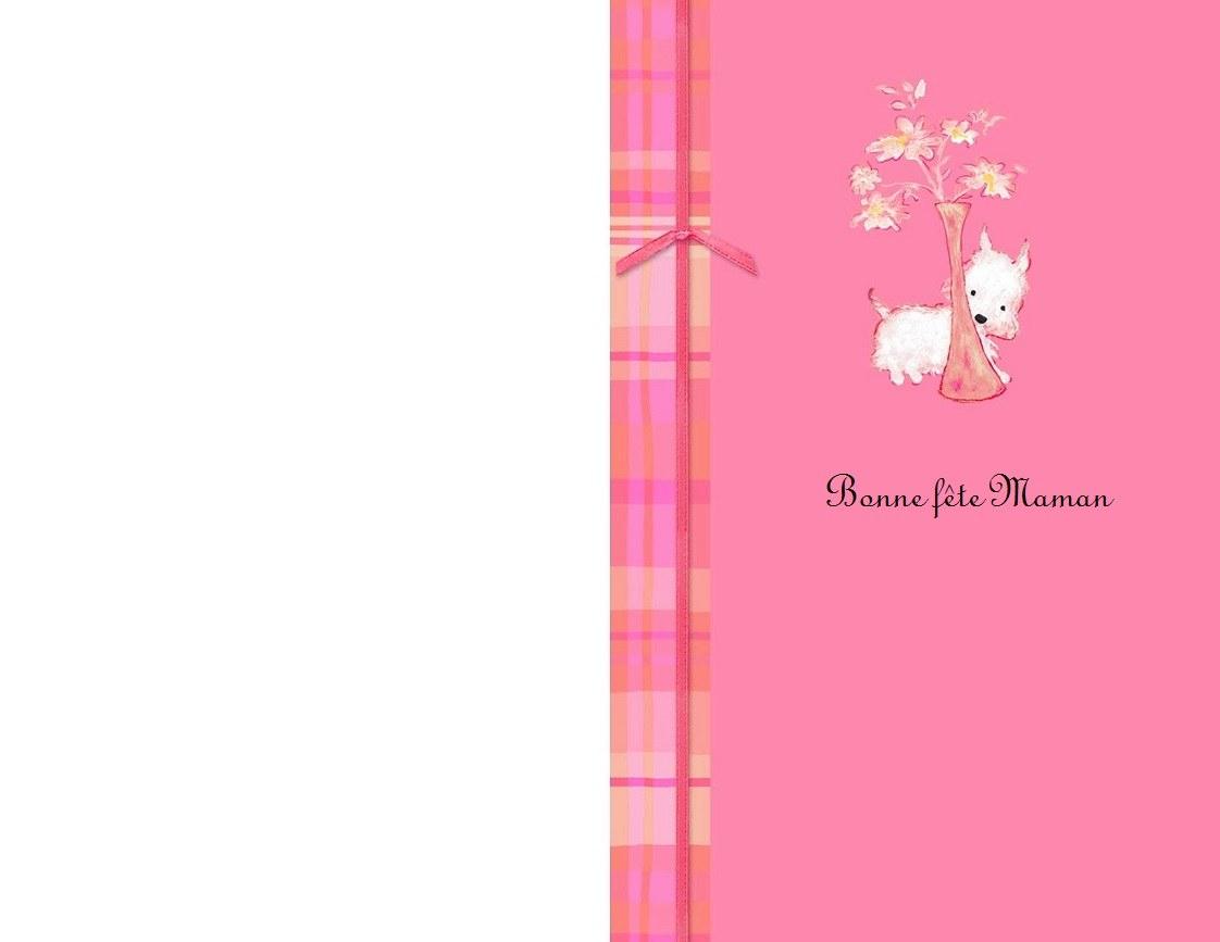 Jolies Cartes Bonne Fête Maman À Imprimer En Ligne - destiné Carte Bonne Fete Maman A Imprimer